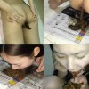 BFCH-01 Chinese young girl shits on paper and eat feces. (Uncensored amateur scat)