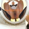 BFJG-20 Girls pooping in toilet viewing from below. (HD 1080p)