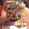 [Special #447] Lesbians coprophagy role-playing scat game. (UHD 4K)