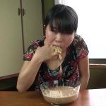 BFHD-65 Saya Takazawa drinking bowl of own vomit and puking again.