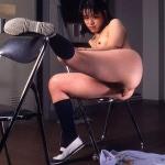 DT30 Fuko Hato piss prolapse and enema pooping photoset.