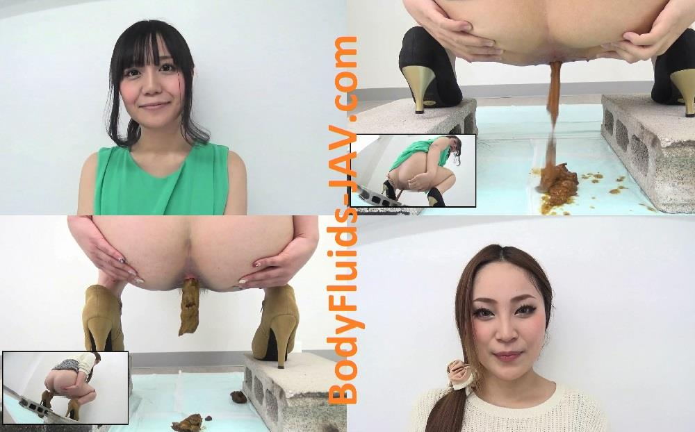 BFNF-02 Two beautiful girls closeup pooping. (HD 1080p)