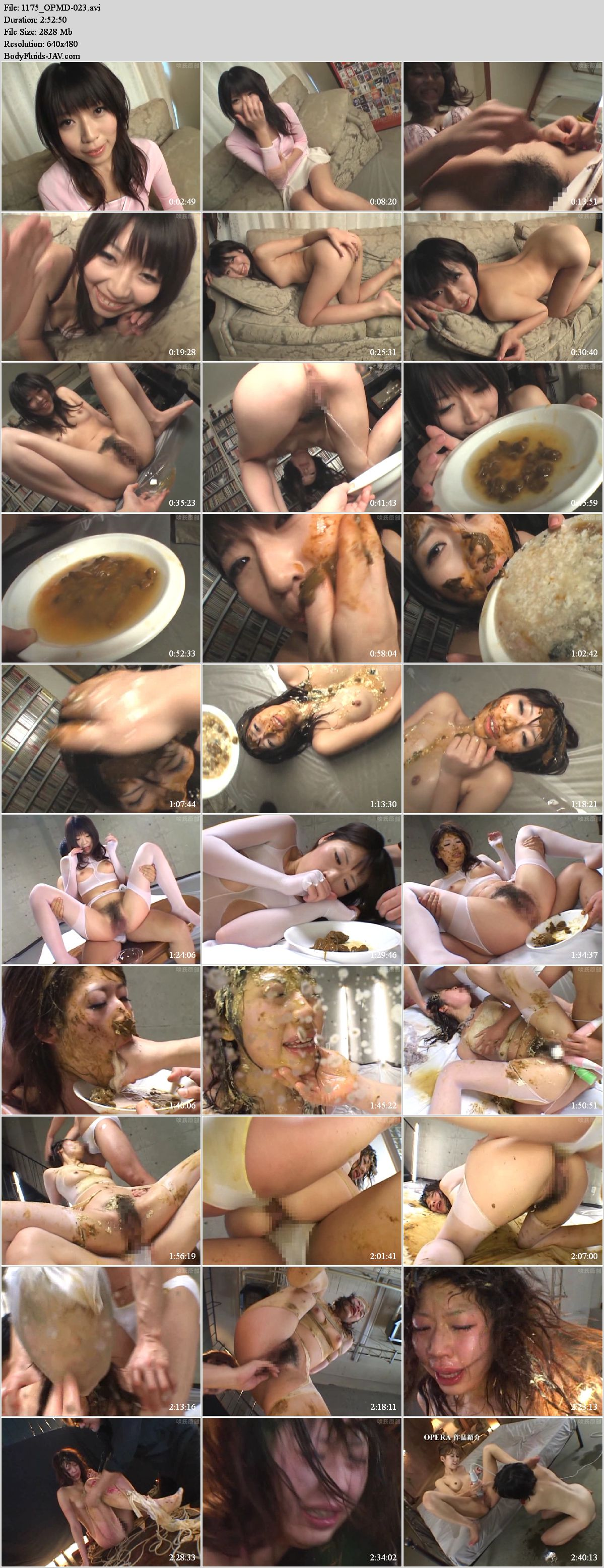 OPMD-023 Student Arisa Aoyama SM scatology extremely vomit.