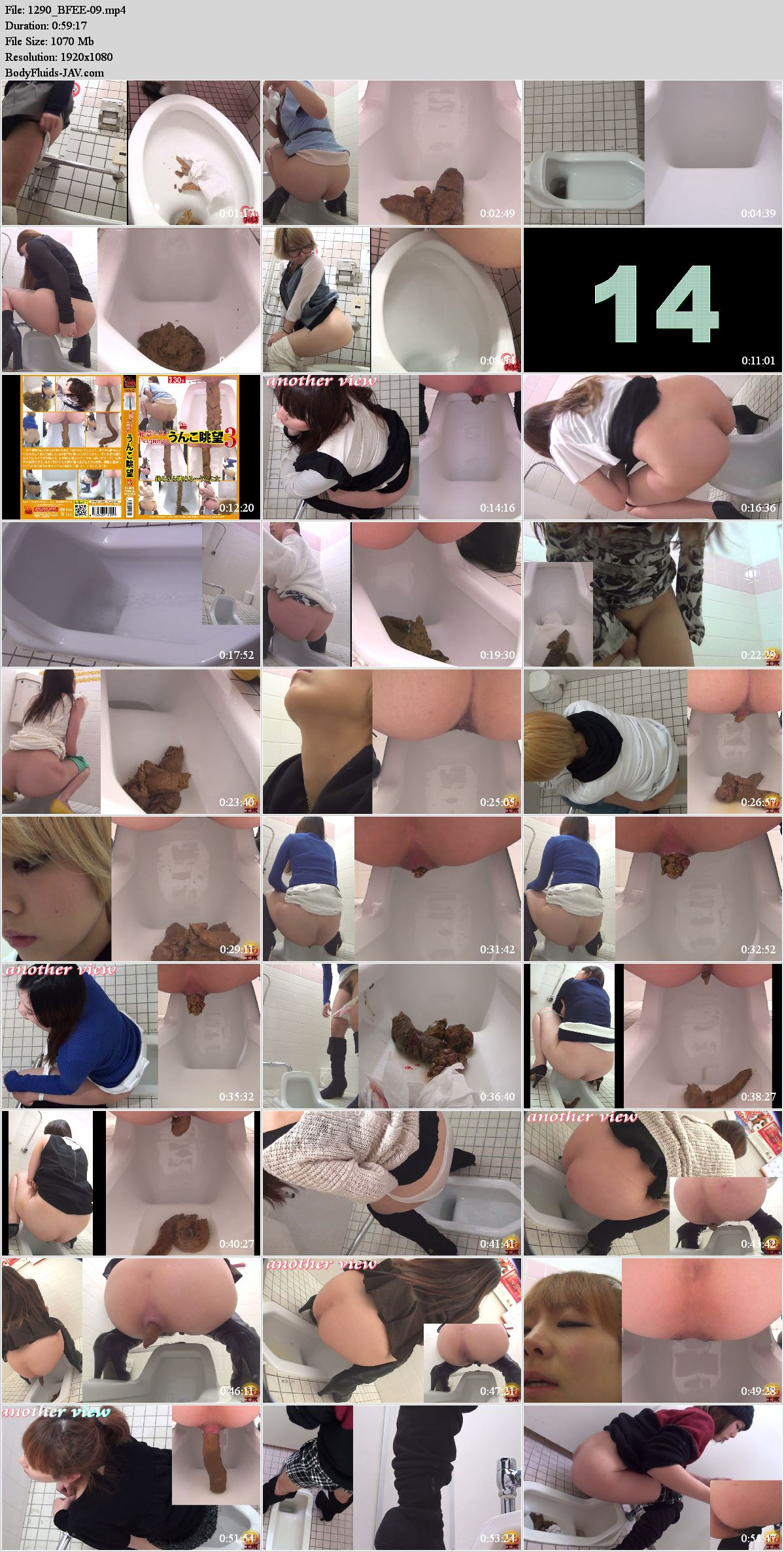BFEE-09 Best collection pooping girls in toilet. (HD 1080p)