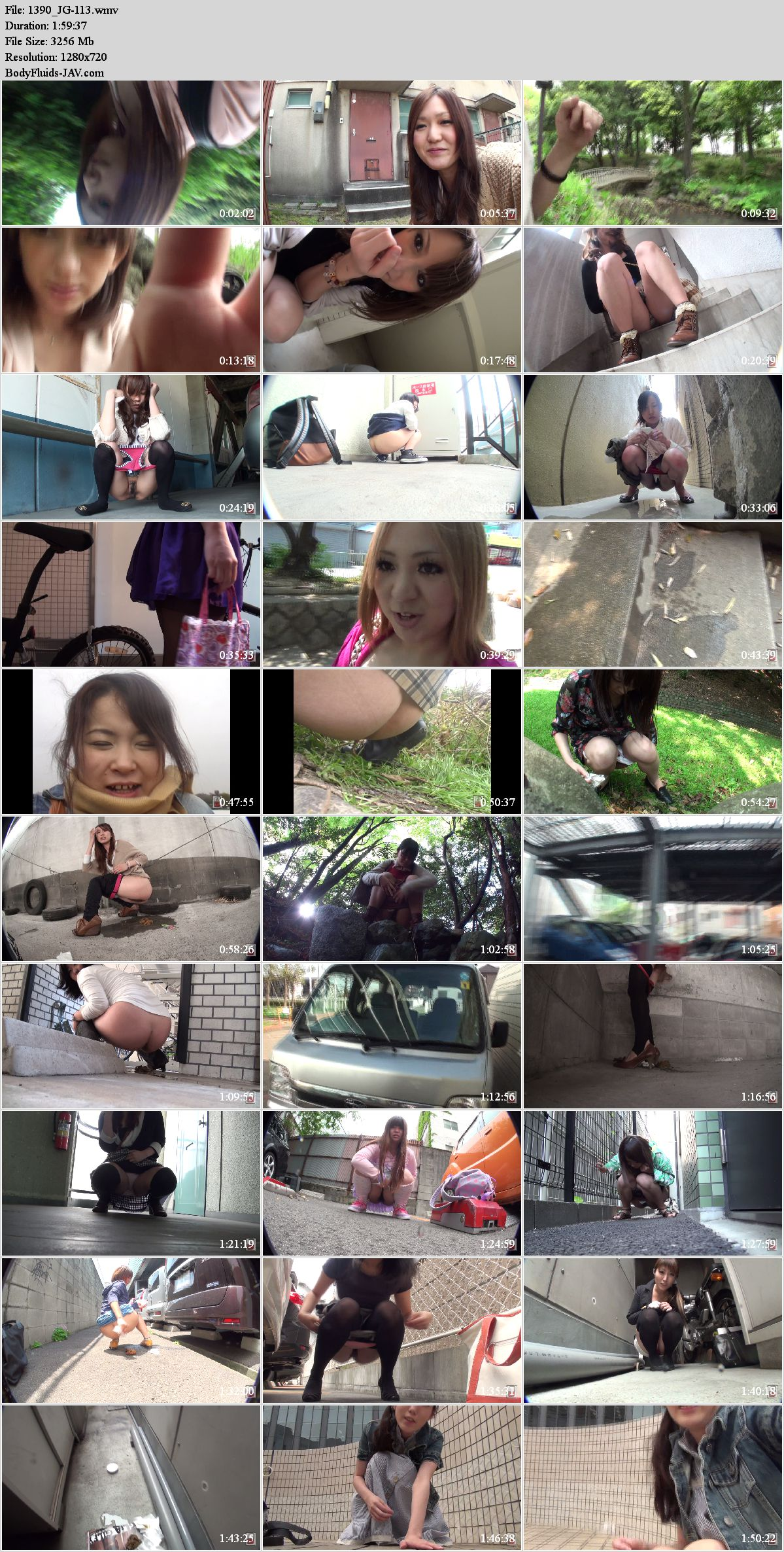 JG-113 Outside self filmed pooping of pissing episodes. (HD 720p)
