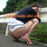 KM-1022 Field feces Fukasawa Anna amateur poop. (HD 720p)