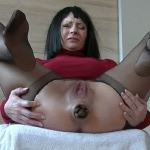 [Special #171] Very hard defecated constipation a woman. (HD 1080p)