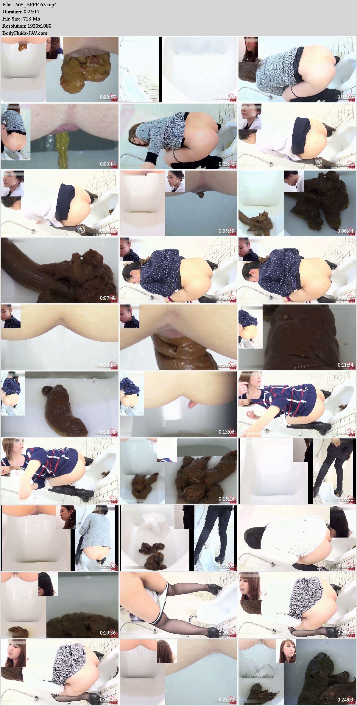 BFFF-62 Girls erotic pooping in toilet. (HD 1080p)