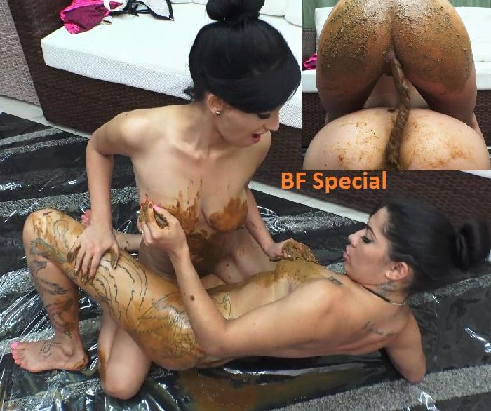 Exciting, pleasurable and dirty! These girls decided to make a hot love  with much piss and scat. In total ecstasy they make much ass licking and  suck pussy ...