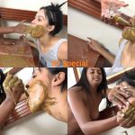 [Special #570] Mistress force slavegirl swallow urine and feces. (HD 1080p)