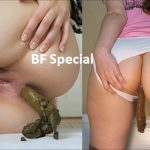 [Special #592] LoveRachelle four videos pooping weekend. (HD 1080p)