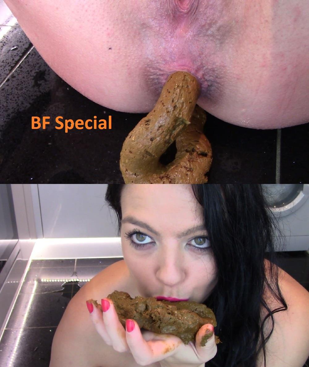 [Special #675] Evamarie88 licking and kisses huge shit. (HD 1080p)