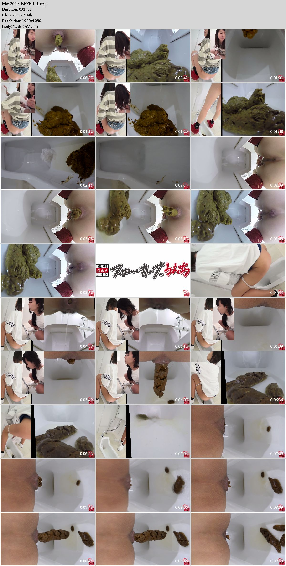 BFFF-141 Public toilet and close-up defecation girls. (HD 1080p)