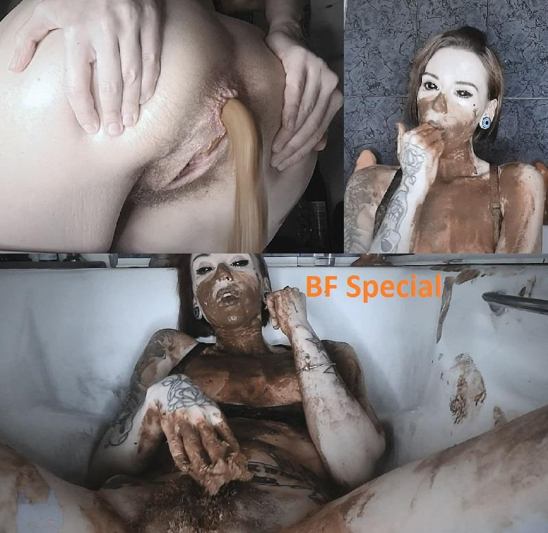 [Special #702] Huge portions of shit and really dirty action. (HD 1080p)