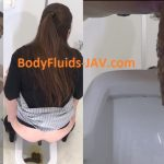 BFFF-155 Girls with pimply butt pooping in toilet. (HD 1080p)