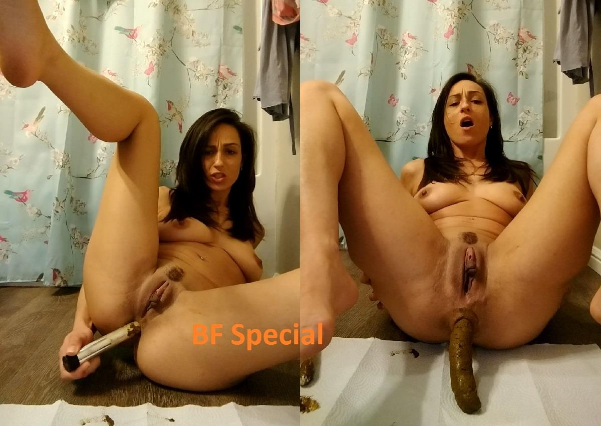[Special #798] Dirty anal masturbation and shit huge turd. (HD 1080p)