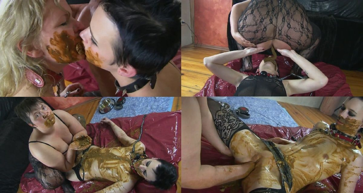 Latina Lesbian Scat Orgy Pics